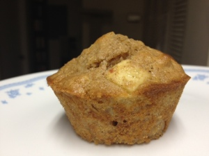 apple cinnamon muffins finished