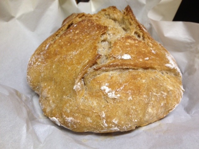 Crusty Artisan Bread Variation – finding time for cooking