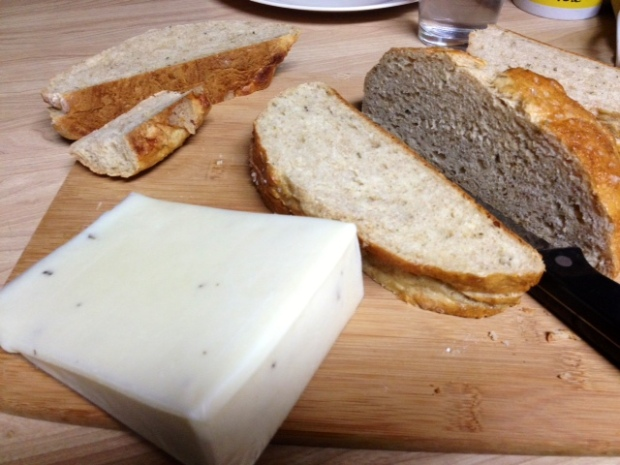 grilled cheese herb bread