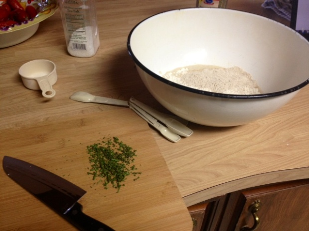 rosemary olive oil bread dry ingredients