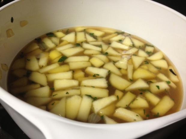sweet potato soup broth
