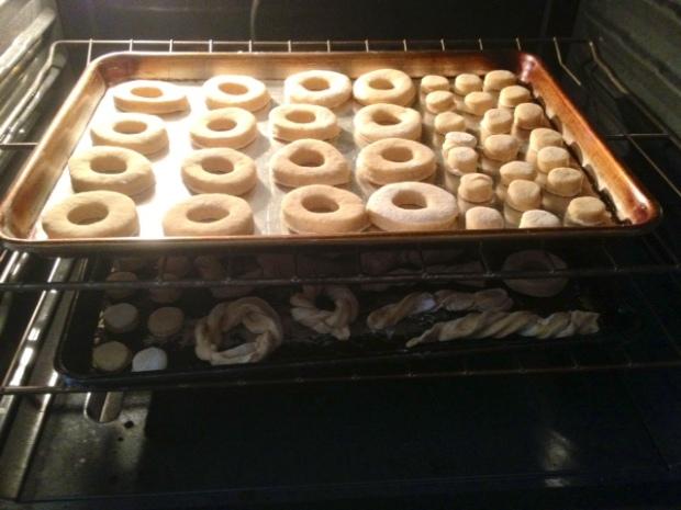 mom donuts cutout rising