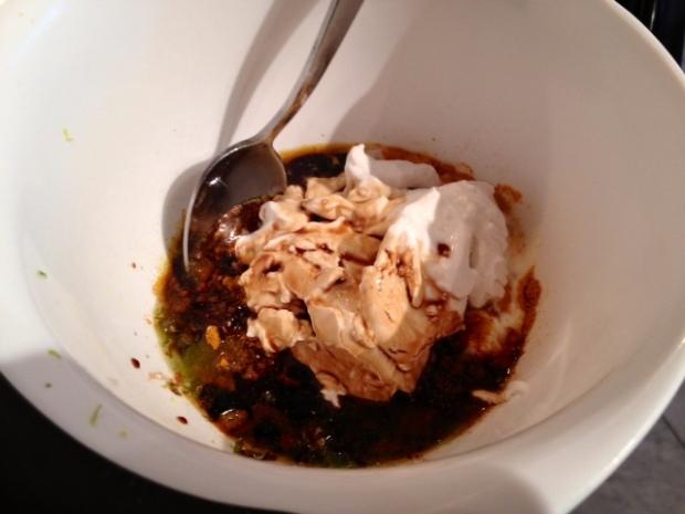 lime curry chicken yogurt soy