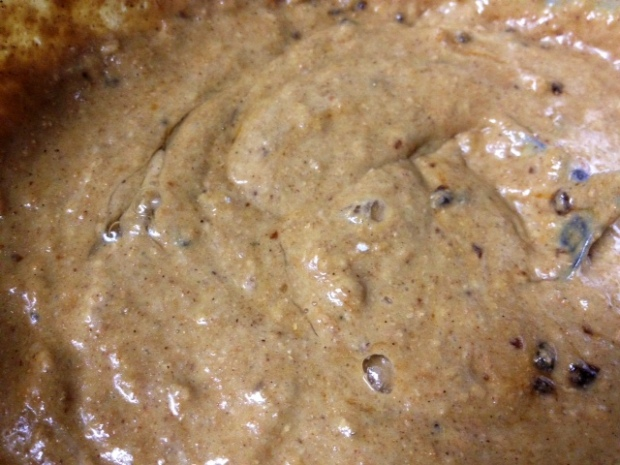 whole wheat gingerbread pancakes batter2