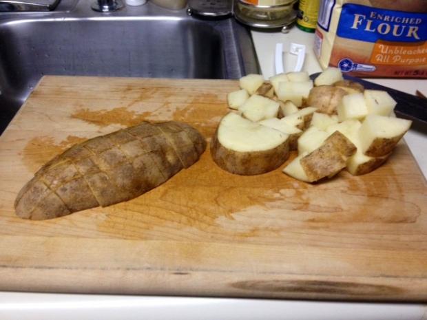 broccoli corn chowder potato chopped