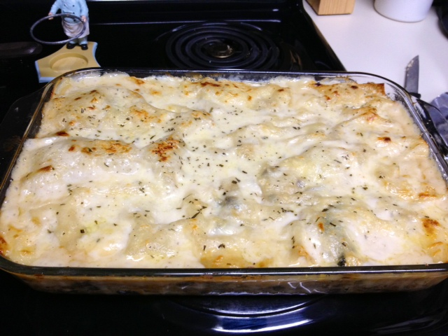 This is definitely the most interesting chicken lasagna recipe I've ...