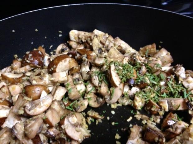 rosemary chicken lasagna mushrooms rosemary