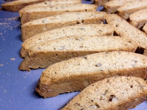 snickerdoodle biscotti finished