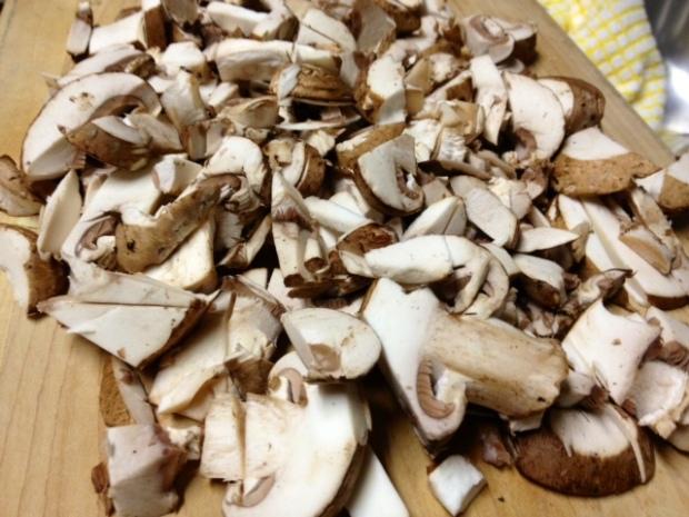 creamy chicken mushroom pasta mushrooms