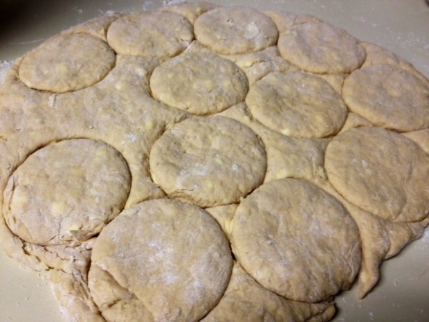 whole wheat biscuits cut out