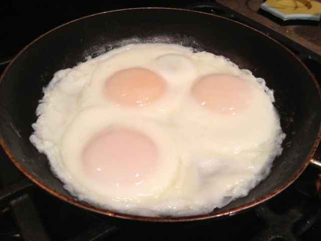 Image result for coffee and basted eggs