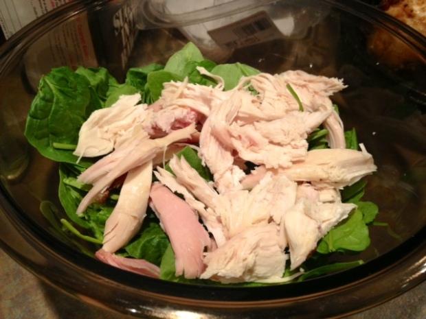 chicken quinoa veggie bake chicken spinach