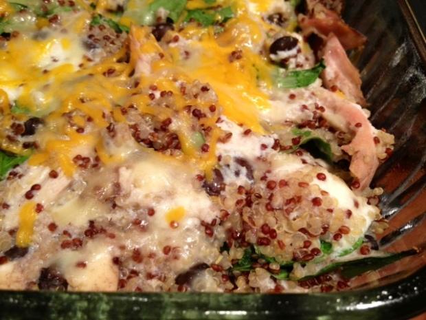 chicken quinoa veggie bake finished2