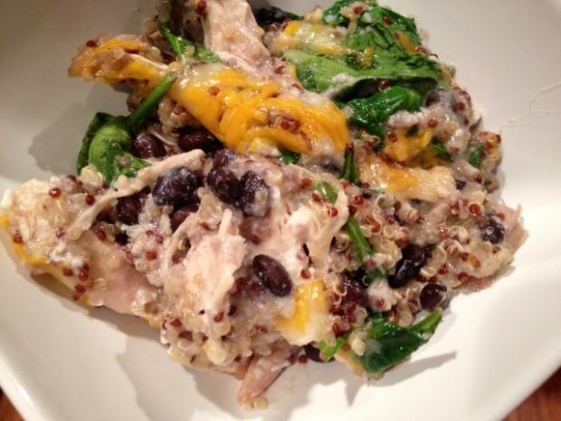 chicken quinoa veggie bake finished4