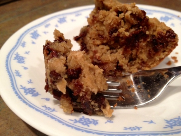 Healthy Deep-Dish Chocolate Chip Cookie