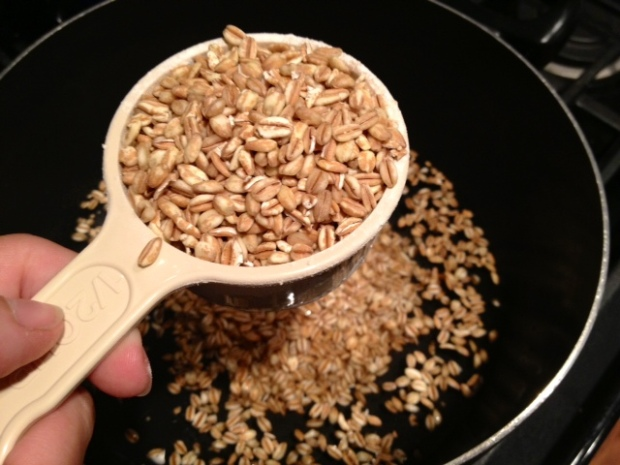 one-pot farro dry