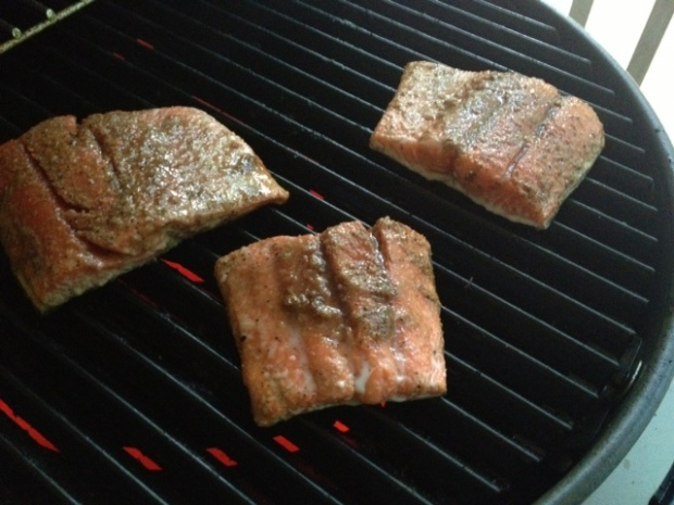 soy glazed grilled salmon grilling