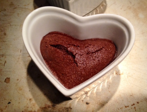 Chocolate Financier Heart