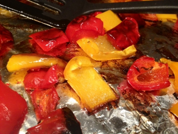 crockpot beer chicken roasted peppers