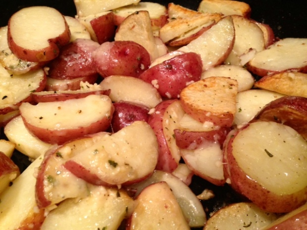 Parmesan Garlic Roasted Potatoes finished2