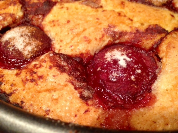 Plum Torte closeup