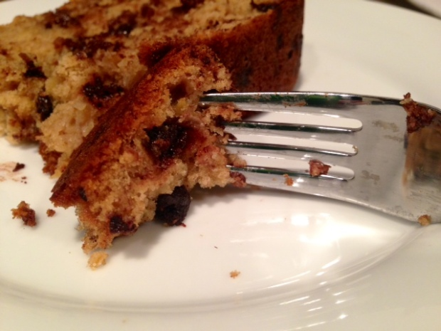 Chocolate Chip Banana Bread piece2