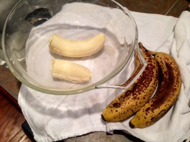 chocolate chip banana bread ripe bananas