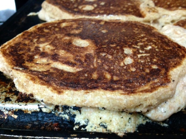 Buttermilk Pancake cooked