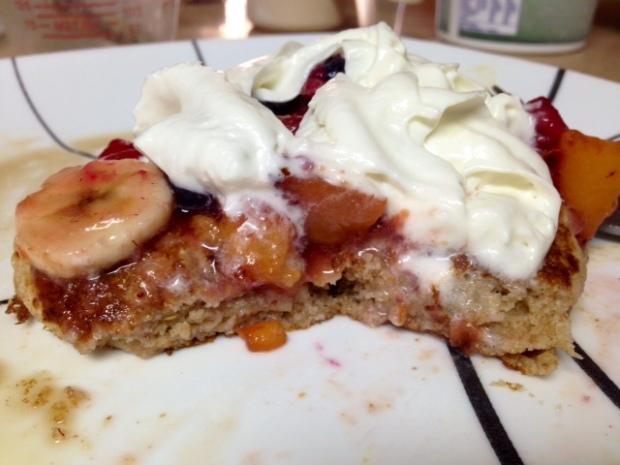 Buttermilk Pancake with Fruit