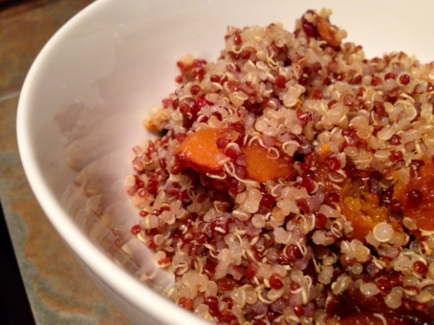 Quinoa Salad with Butternut Squash & Citrus Honey Dressing