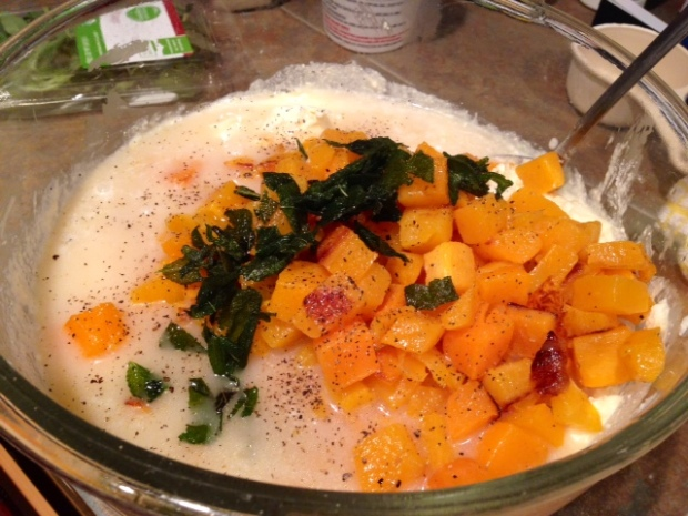butternut squash & sage lasagna filling ingredients