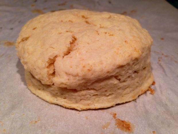 Cream Biscuits closeup