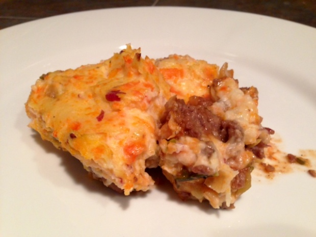 Carrot, Parsnip, & Goat Cheese Mash Shepherd's Pie – finding time ...