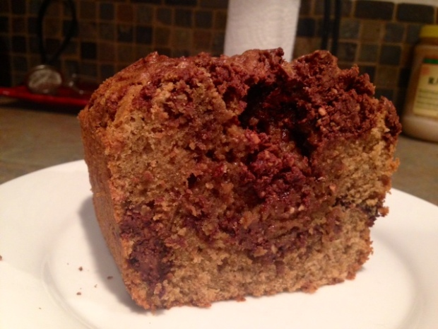Chocolate Hazelnut Coffee Poundcake