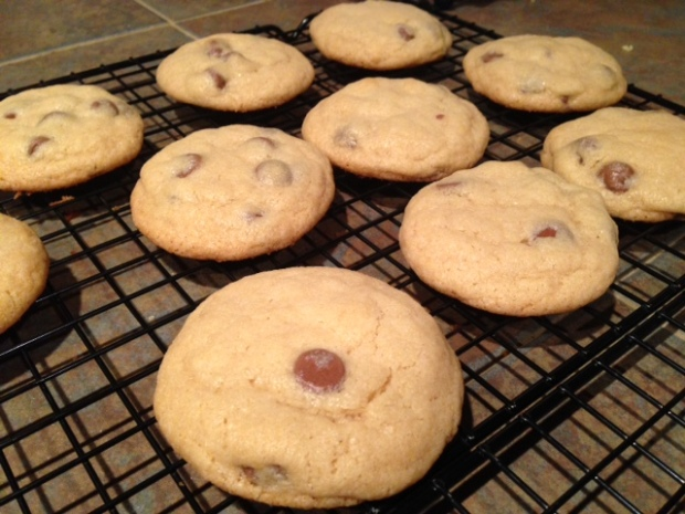 Soft Chewy Chocolate Chip Cookies finished