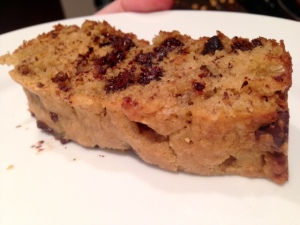 Grandma's Chocolate Chip Banana Bread