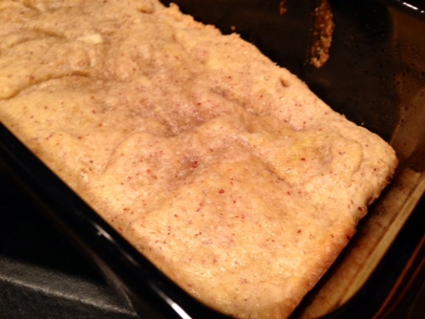 unleavened almond bread baked
