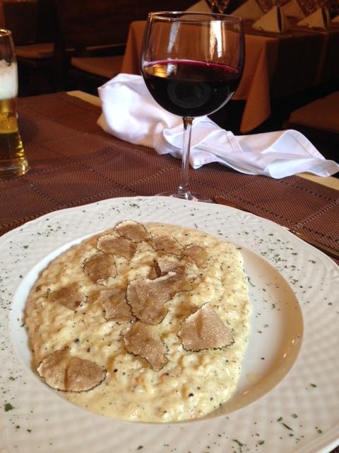 croatia truffle risotto
