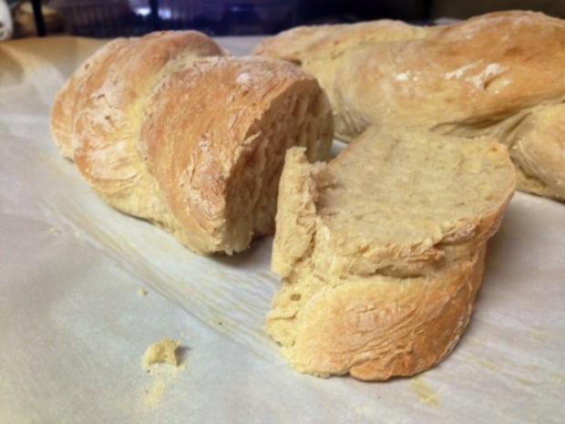 30-Minute Crusty Baguette done