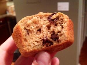 Banana Chocolate Coffee Muffins
