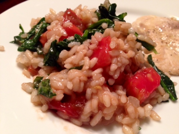 Heirloom Tomato Risotto
