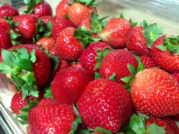 moist strawberry shortcake strawberries
