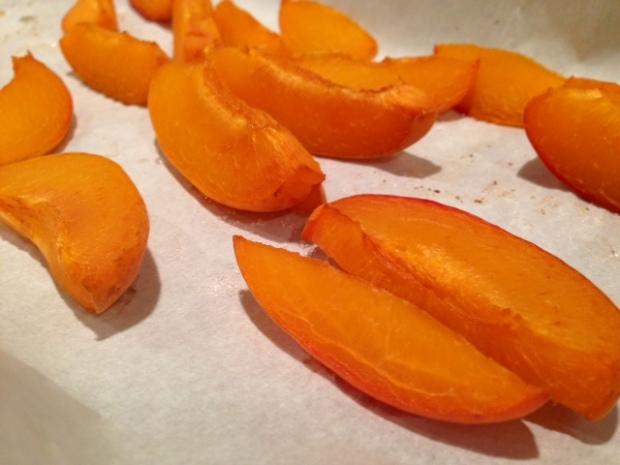roasted apricot ice cream apricots roasted