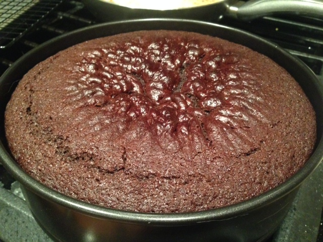 Chocolate Stout Cake Baked