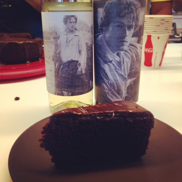chocolate stout cake jamie bottle