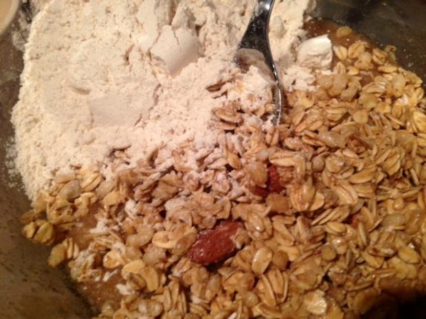 granookie dry ingredients