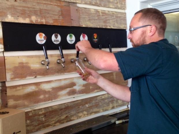 hop federation beer tasting
