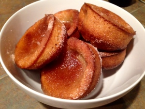 Churro Popovers finished