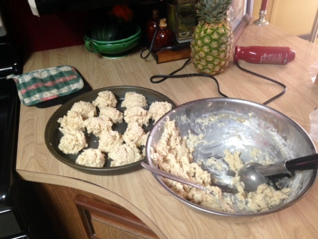 easy drop biscuits dough pan