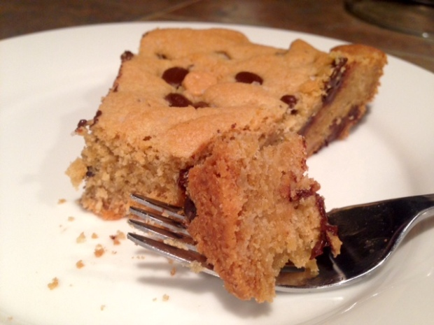 Giant Chocolate Peanut Butter Chip Skillet Cookie